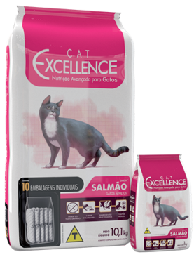 Cat Excellence Adulto Salmão 10,1kg