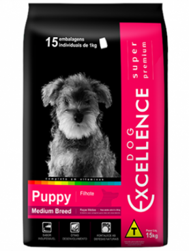 Dog Excellence Puppy Super Premium Medium Breed 15kg