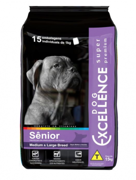 Dog Excellence Medium Large Breed Sênior 15kg