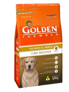 Golden Formula Adulto Salmão e Arroz
