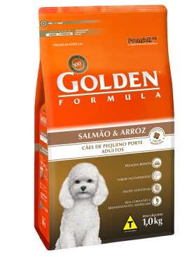 Ração Golden Formula Adulto Salmão e Arroz Mini Bits