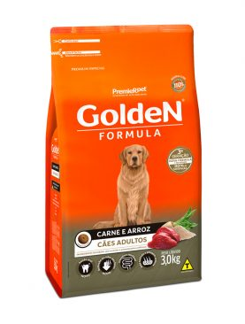 Golden Formula Adulto Carne e Arroz