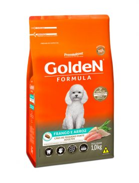 Golden Formula Cães Adultos Frango e Arroz Mini Bits