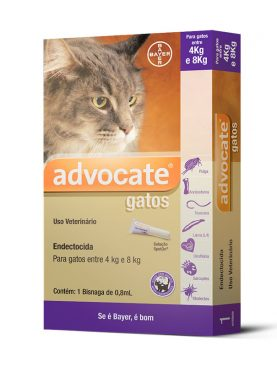 Antipulgas Bayer Advocate para Gatos de 4 a 8 Kg - 0,8 mL