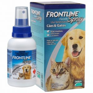 Frontline2020spray20100ml 300x300 - Frontline Spray  Antipulgas e Carrapatos para Cães e Gatos - Merial Goiânia