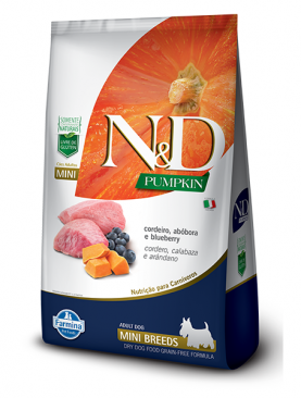 N&D Pumpkin Canine Cordeiro Mini 2,5kg