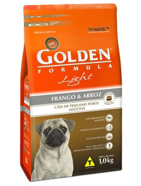 Ração Golden Adulto Light Mini Bits Frango e Arroz