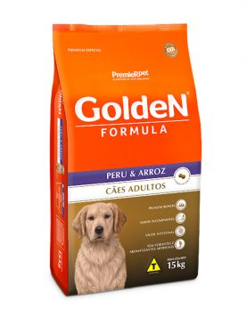 Golden Formula Adulto Peru e Arroz 15Kg