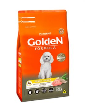 Ração Golden Formula Adulto Peru e Arroz Mini Bits