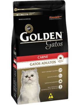 Golden Gatos Adulto Carne