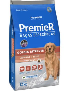 Premier Raças Específicas Golden Retriever Adulto - 12 Kg