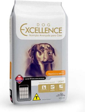 Ração Dog Excellence High Premium Raças Grandes e Médias Light 15 Kg