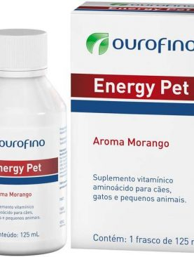 Energy Pet Suplemento Ouro Fino 125ml