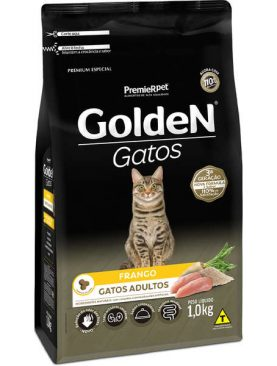 Golden Gatos Val.20/01/2020 Adultos Frango 1kg