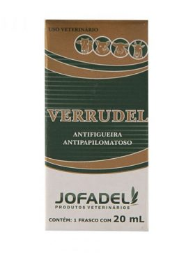 Verrudel  Antifigueira Antipapilomatoso 20ml