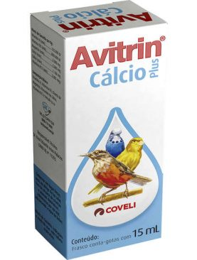 Avitrin Cálcio plus 15ml