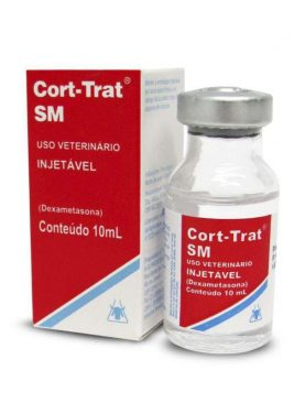 Cort-Trat Sm Injetável 10 ml