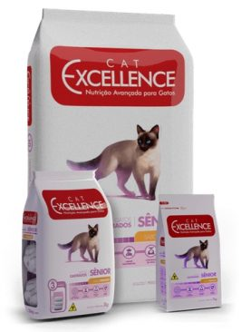 Cat Excellence Senior Castrados sabor Frango