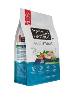 Fórmula Natural Fresh Meat Sênior Raças Mini e Pequena 7KG