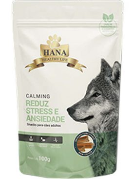 Snacks Hana Healthy Life Calming para Cães Adultos 100GR