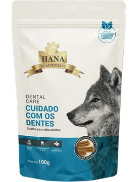 Snacks Hana Healthy Life Dental Care para Cães Adultos 100GR