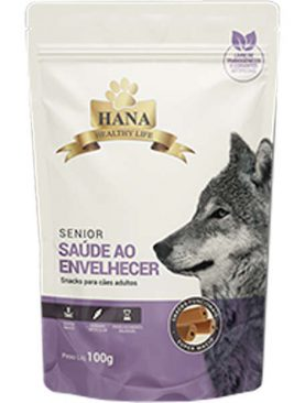 Snacks Hana Healthy Life Senior para Cães 100GR