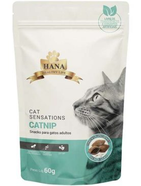 Snacks Hana Healthy Life Sensations Catnip para Gatos Adultos