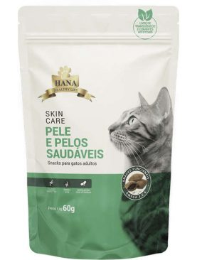 Snacks Hana Healthy Life Skin Care para Gatos Adultos